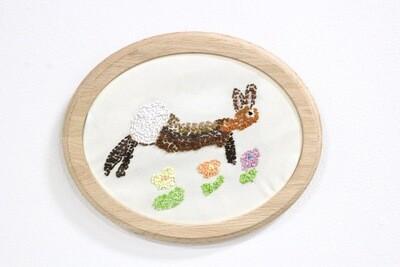 Jennifer Walton, Bunny embroidery
