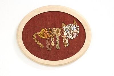 Jennifer Walton, Cat embroidery