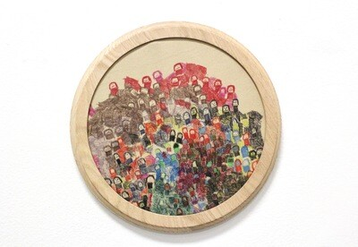 Jenny Garrity, Marker On Fabric