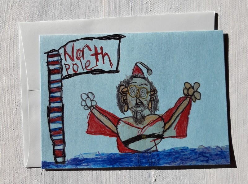 North Pole Card by Nicole Dilorenzo