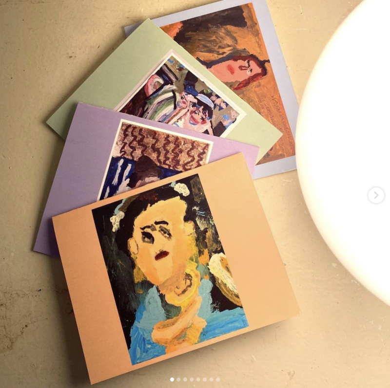 Fancy Lady greeting card pack by Vinetta Miller