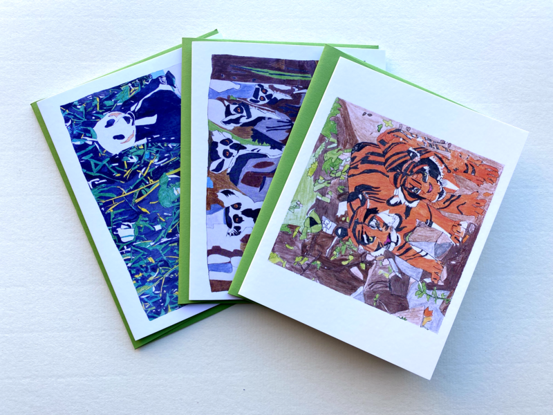 Olu Ojo Animals card pack
