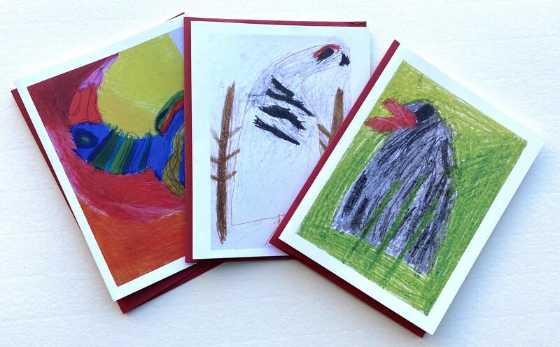Clyde Henry Birds card pack