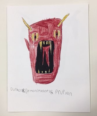 Halloween Scary Monsters book