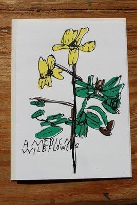American Wild Flower Card by Judy Barnett