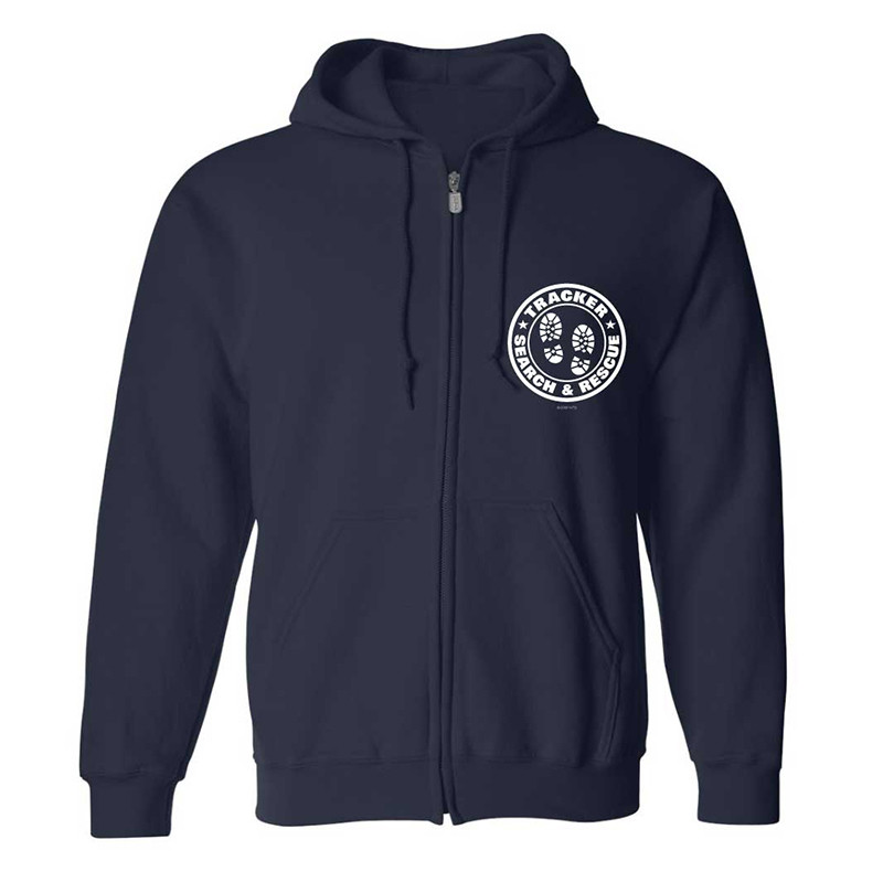 Zipper Hoodie Sweatshirt: SAR Tracker