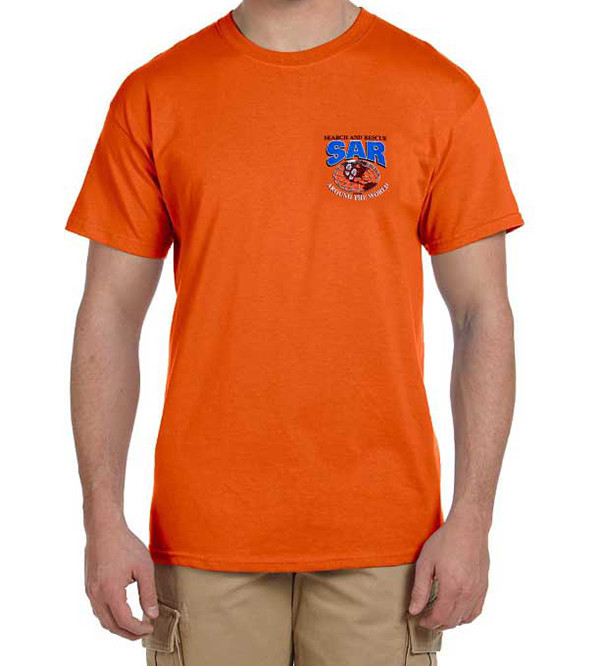 Short Sleeve T-Shirt: SAR Around the World