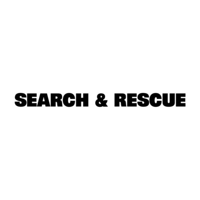 Window Decal (Die-Cut): SEARCH & RESCUE