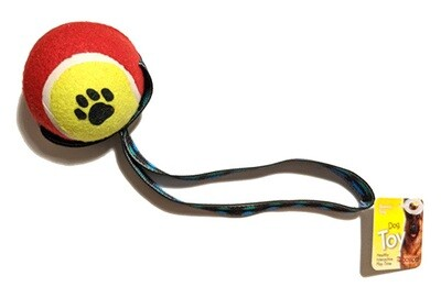 Large Tennis Ball Tug with Strap