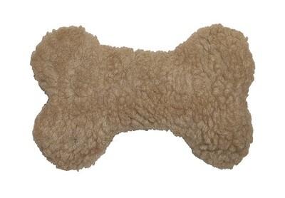 Plush (Dog Toy with Squeaker): Bone
