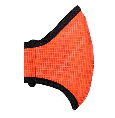 Safety Mask (Mesh): Moisture Wicking Liner with Filter Pocket