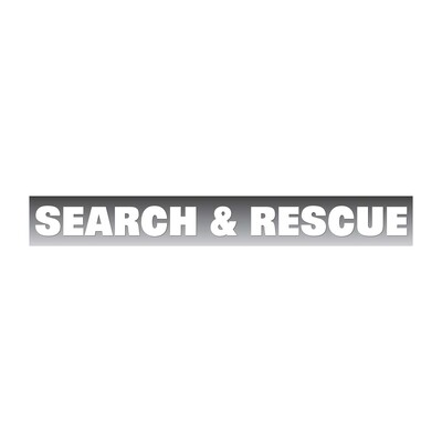 Window Decal (Reflective Die-Cut): SEARCH & RESCUE