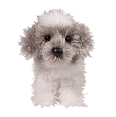 Plush Pup Standing: Sheepdog