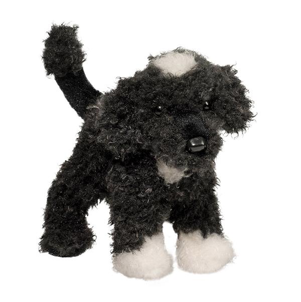 Plush Pup Standing: Portuguese Waterdog