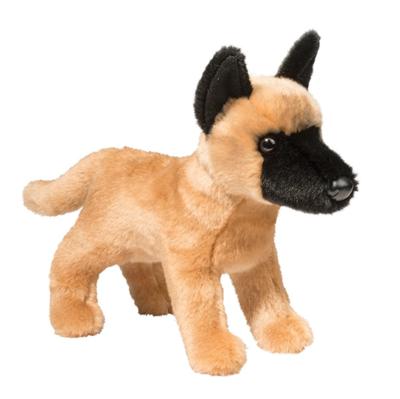 Plush Pup Standing: Malinois