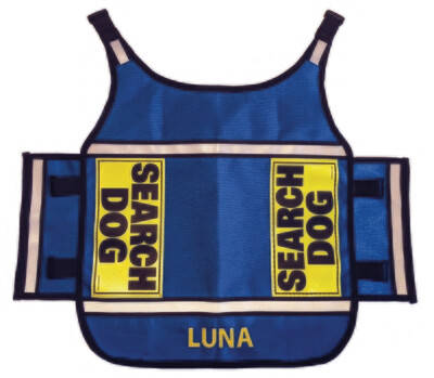Standard K-9 Vest (Cordura®) with Reflective Accents