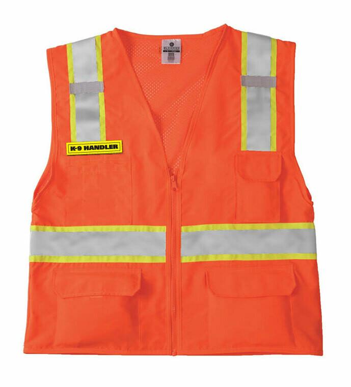 Safety Vest: K-9 UNIT