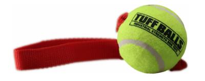 Tennis Ball Tug with Strap