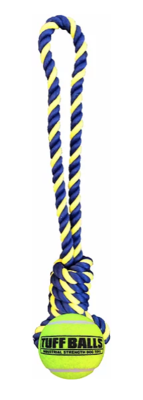PetSport® Knotted Rope Tug with TUFF Ball