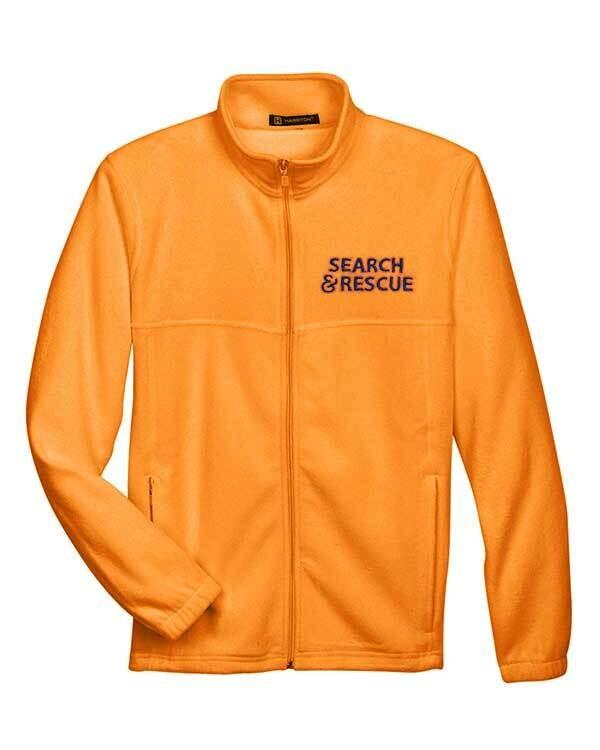 Full-Zip Fleece Jacket: SAR Logo