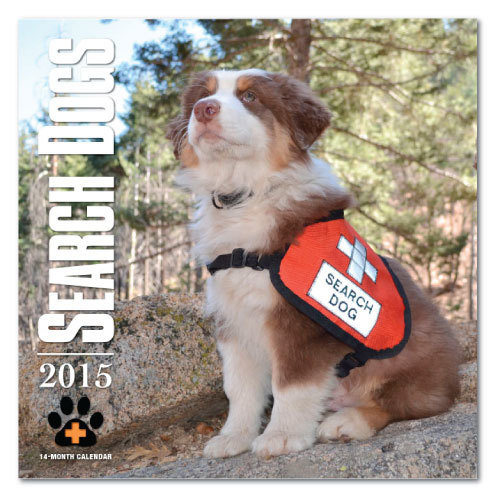 2015 SEARCH DOGS Wall Calendar