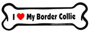 Bone Magnet: I Love My Border Collie