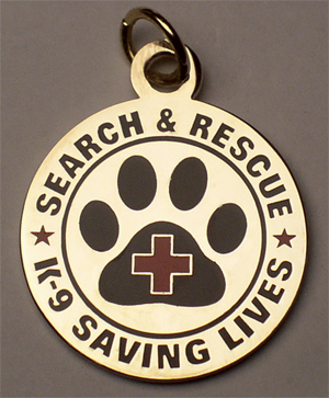 Dog Tag: SAR K-9