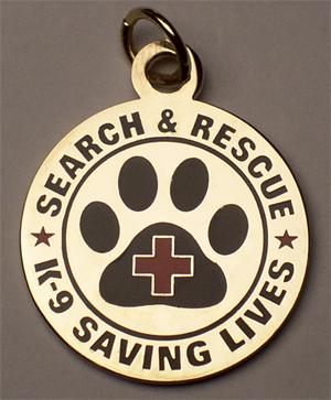 Dog Tag: SAR K-9