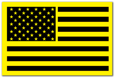 Reflective Patch: American Flag