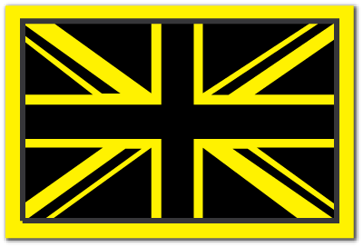 Reflective Patch: British Flag