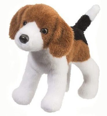 Plush Pup Standing: Beagle