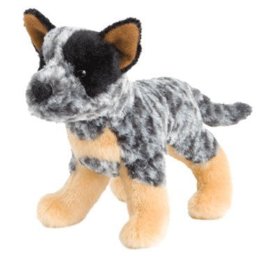 Plush Pup Standing: Australian Cattle Dog