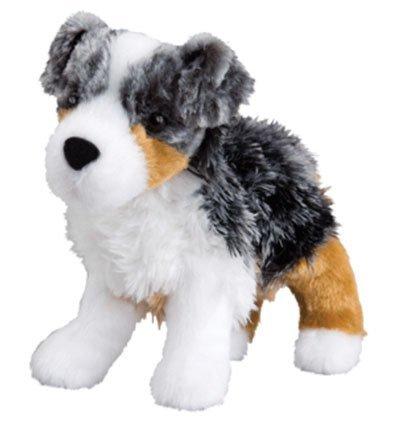 Plush Pup Standing: Australian Shepherd