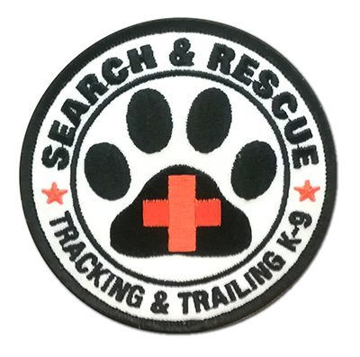 Embroidered Patch: Tracking & Trailing K-9