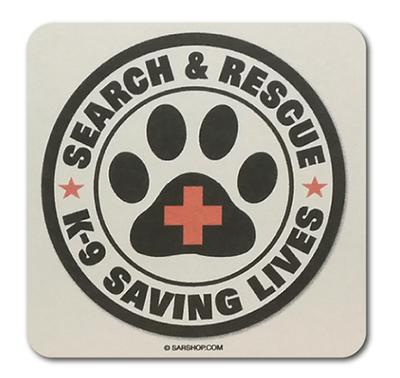 Coaster: SAR K-9 Saving Lives