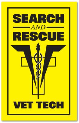 Reflective Patch: SAR VET TECH