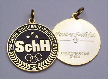 Dog Tag: SchH K-9 Olympiad
