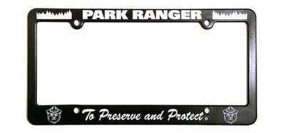 License Plate Frame: Park Ranger