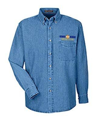Long Sleeve Denim Shirt: Search & Rescue