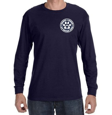 Long Sleeve T-Shirt (Dri-Wear): SAR K-9 All Breed