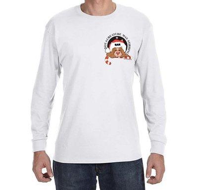 Long Sleeve T-Shirt: Twas the Night K-9
