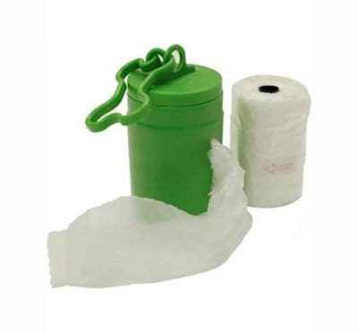Dispenser & Poop Bags (Bio-degradable)