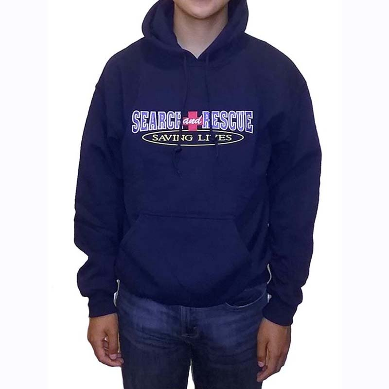 Hooded Sweatshirt: Search & Rescue Saving Lives