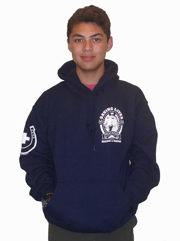 Hooded Sweatshirt: MSAR