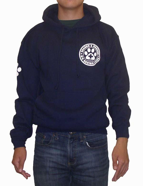Hooded Sweatshirt: SAR K-9 All Breed
