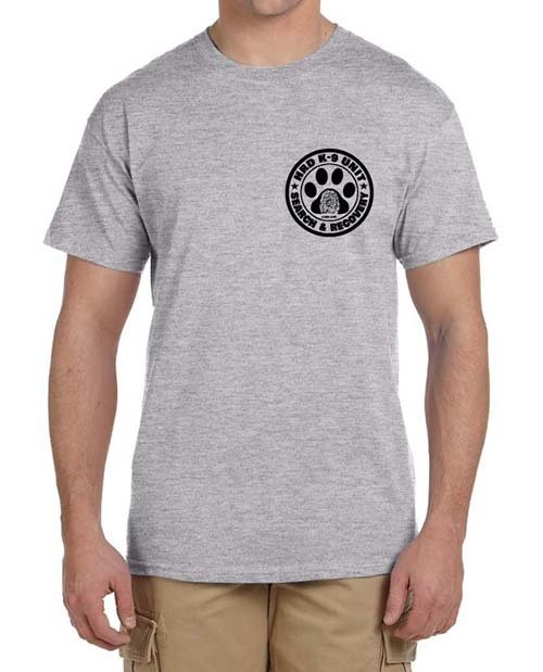 Short Sleeve T-Shirt: HRD K-9 UNIT