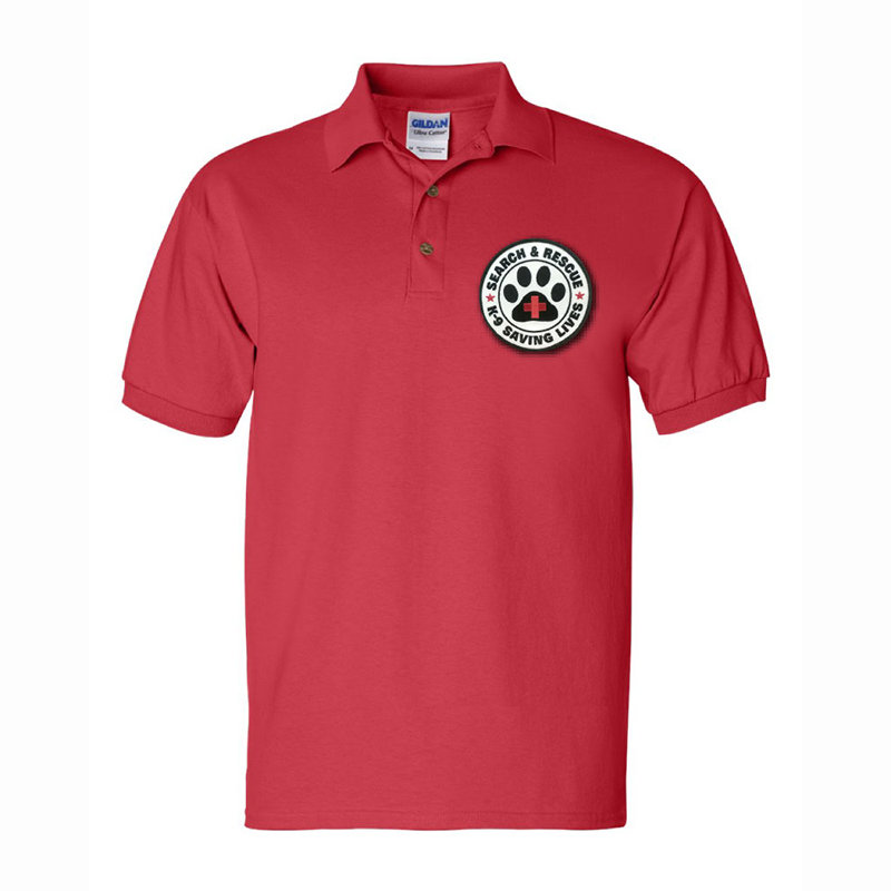 Short Sleeve Polo: SAR K-9