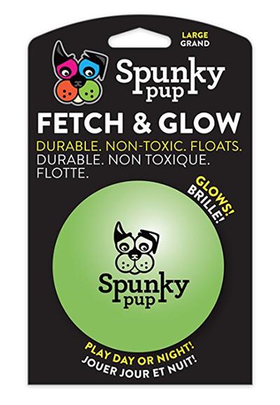Spunky Pup® Fetch & Glow Ball