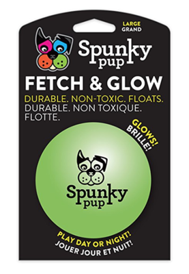 Spunky Pup® Fetch & Glow Ball