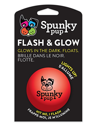 Spunky Pup® Flash & Glow Ball